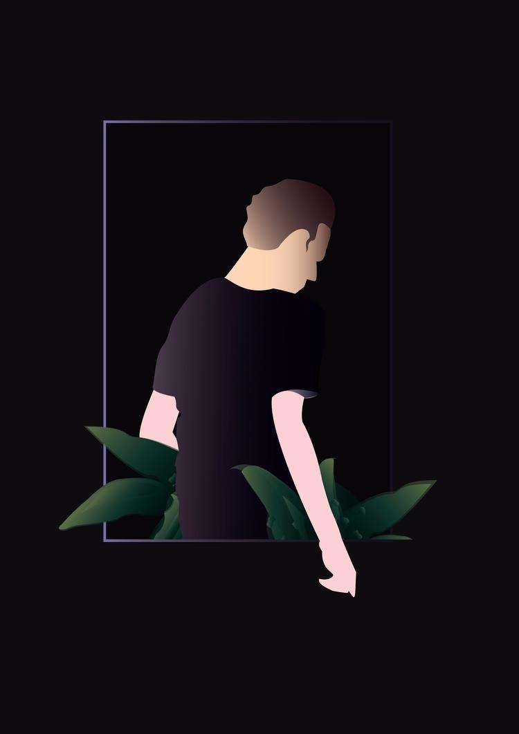 ilumina en la oscuridad - illustration - multiplicidad | ello