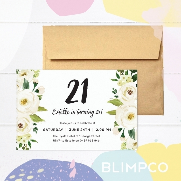 Celebrate special number style - blimpco | ello