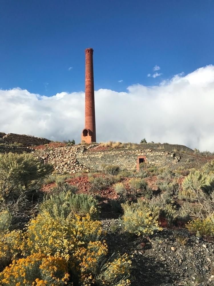 Benton Nevada. Retired smelter  - brickie | ello