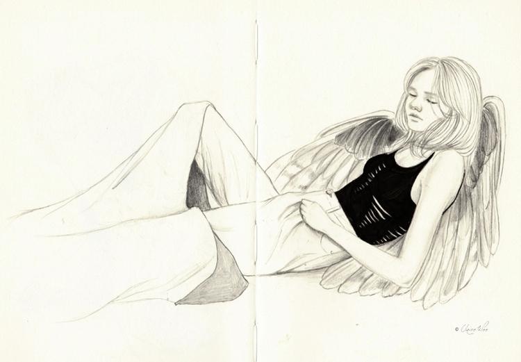 'Fallen' - blog - mondayface, angel - j0eyg1rl | ello