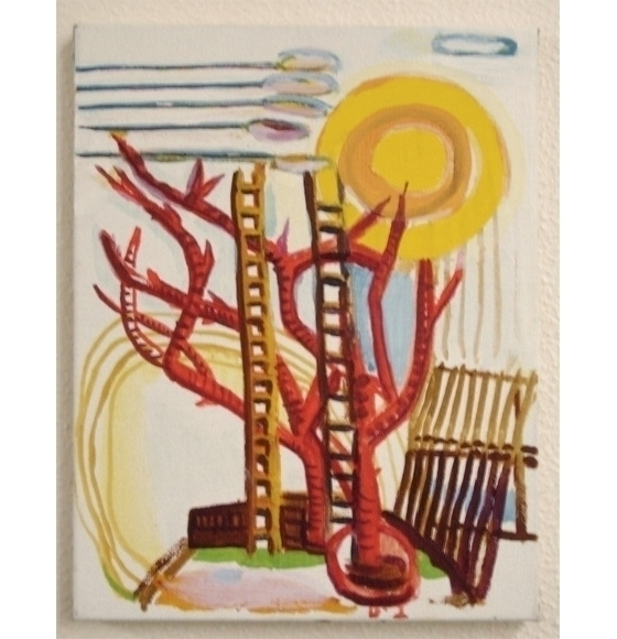 Untitled - 2010 / oil canvas Ku - miccaman   ello