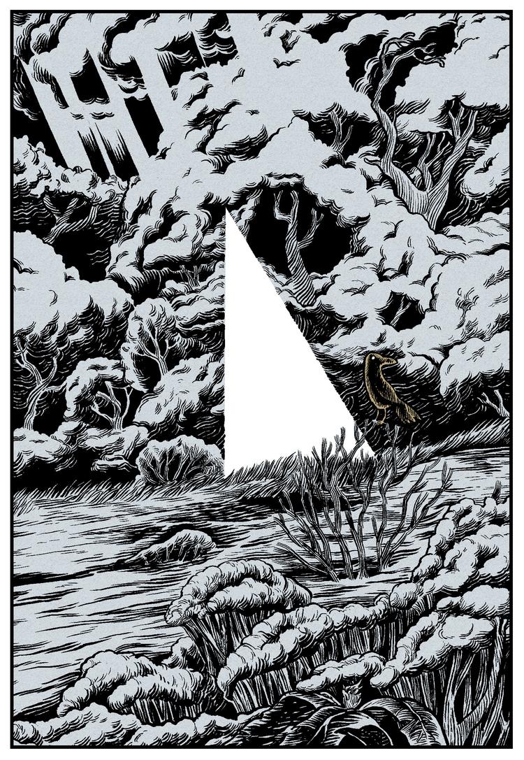 Warlock Moor. Ink paper digital - splendidhand | ello