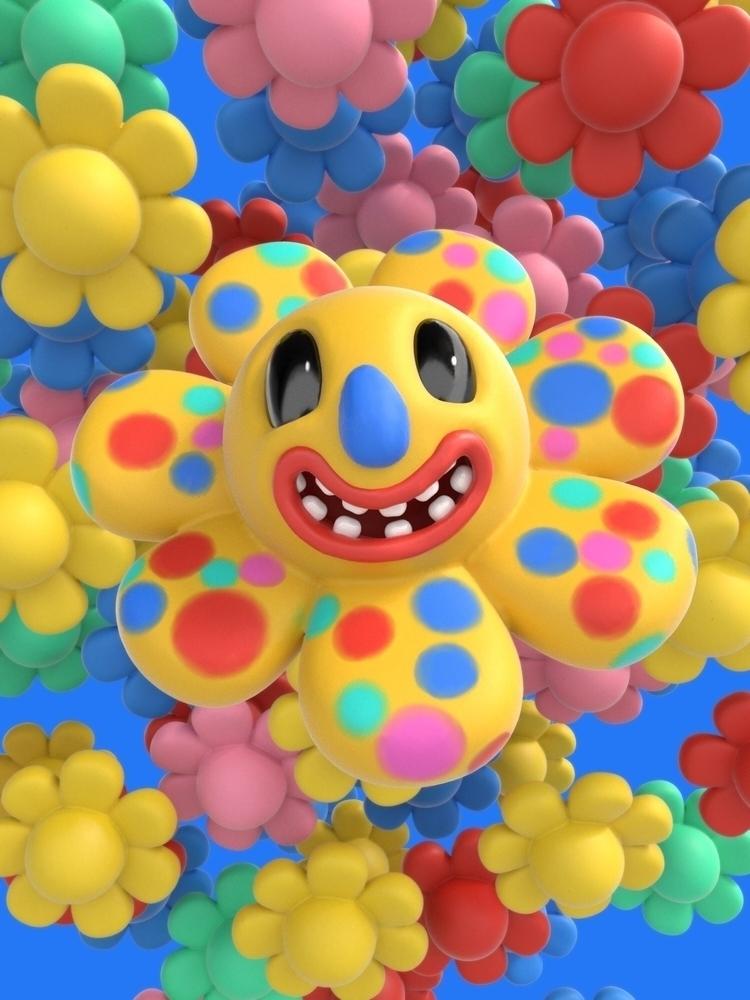 Polka dots flower pots - Flowers - joy | ello