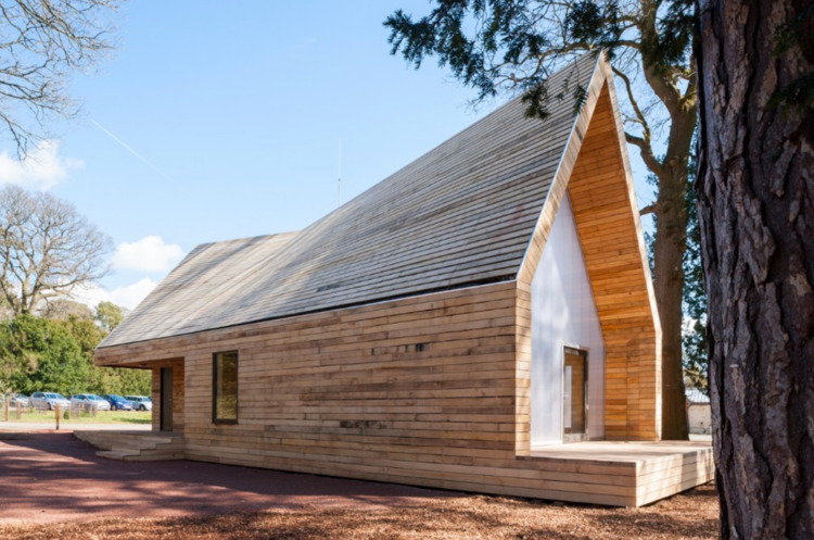 Wolfson Tree Management Centre  - elloarchitecture | ello