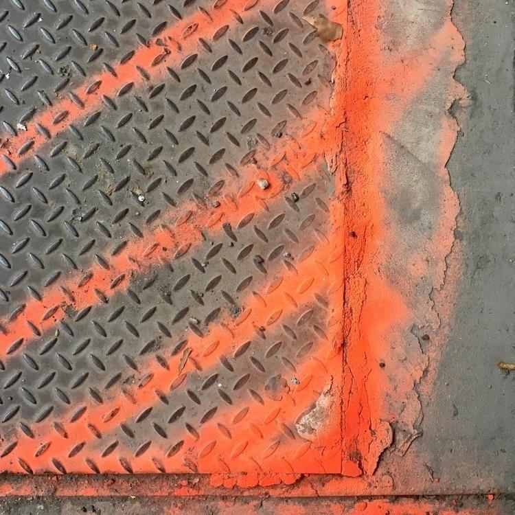 (midtown - urbanart, streetart, sidewalkart - tiffanywebber | ello