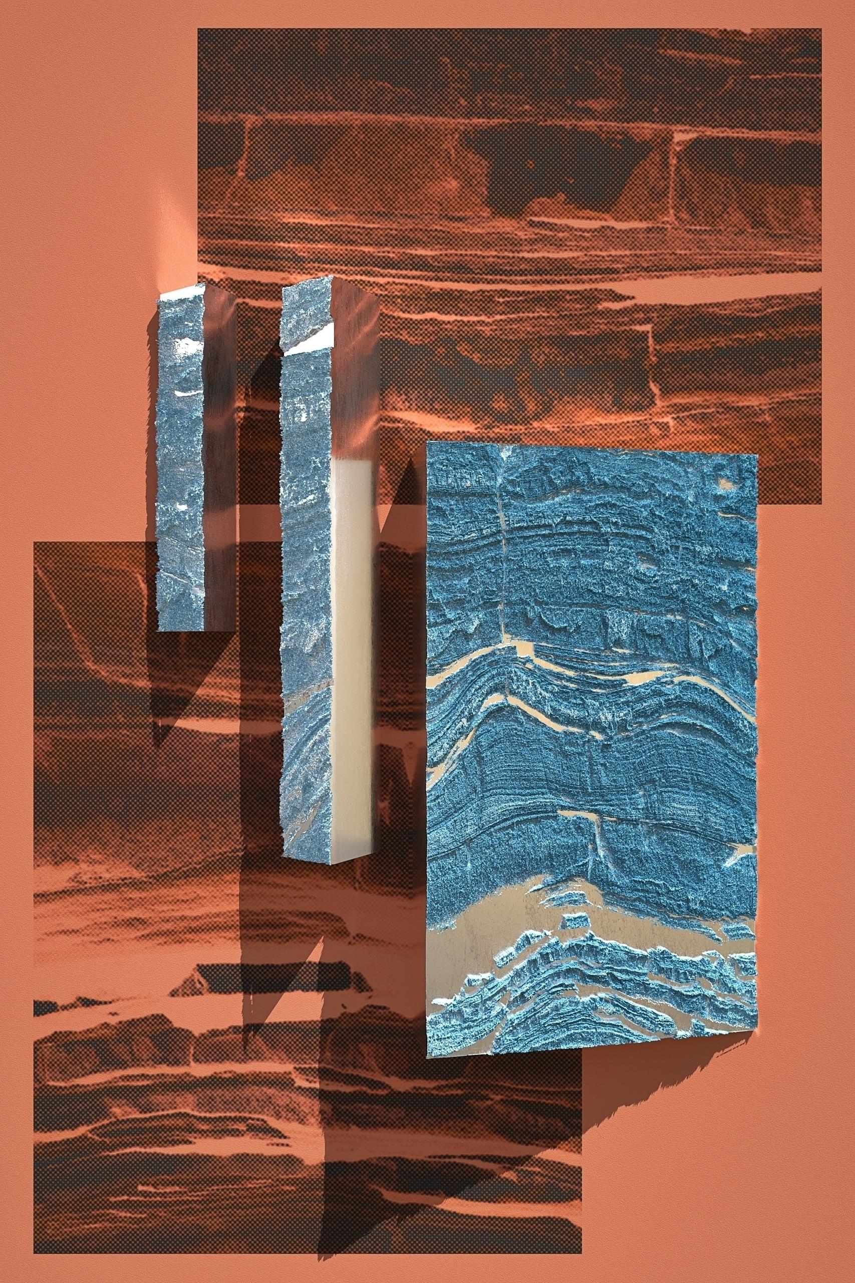 Rock Steel - Poster, 2D, 3D, Illustration - aaaronkaufman | ello