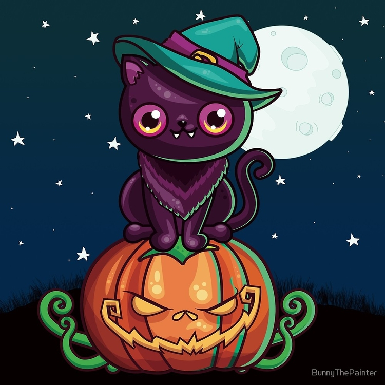 Ferociously Cute Halloween Vamp - littlebunnysunshine | ello