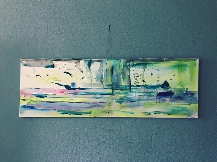 (Acrylic Canvas - acrylic, acryliconcanvas - maikeniemeier | ello