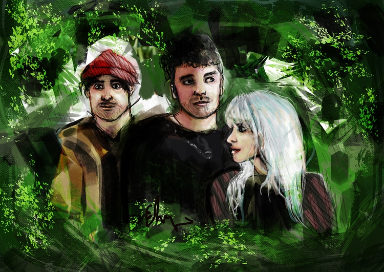 laughter - illustration, art, paramore - andaelentari | ello