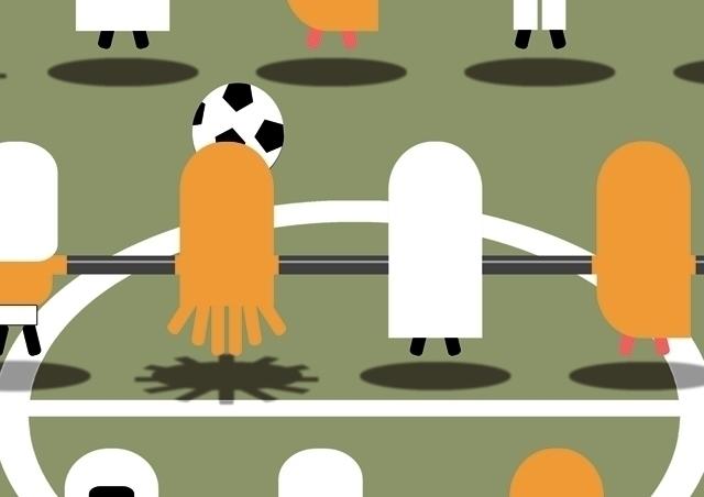 Poster detail: SOCCER - ball,, court, - grabatdot   ello