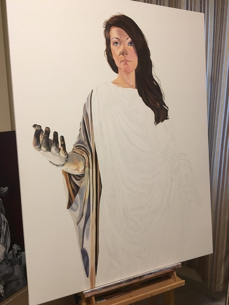 36 48 inches - wip, oilpainting - brandiread | ello