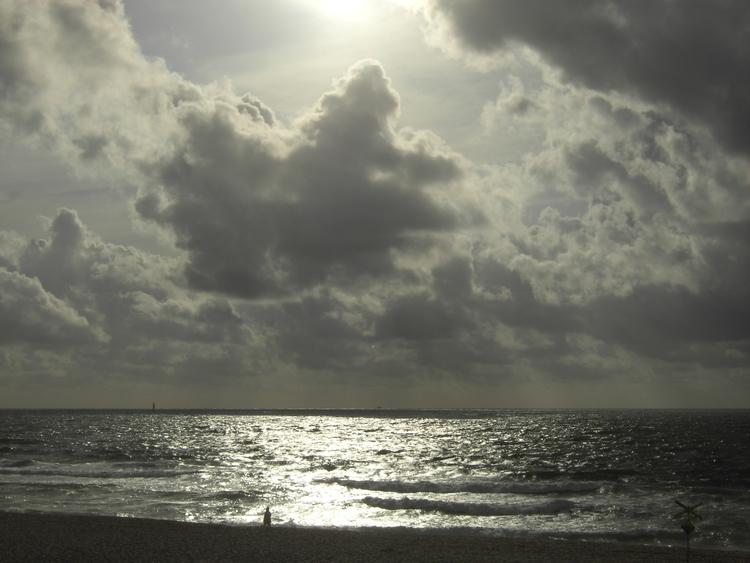 ocean, sea, sun, beach, clouds - derleu | ello