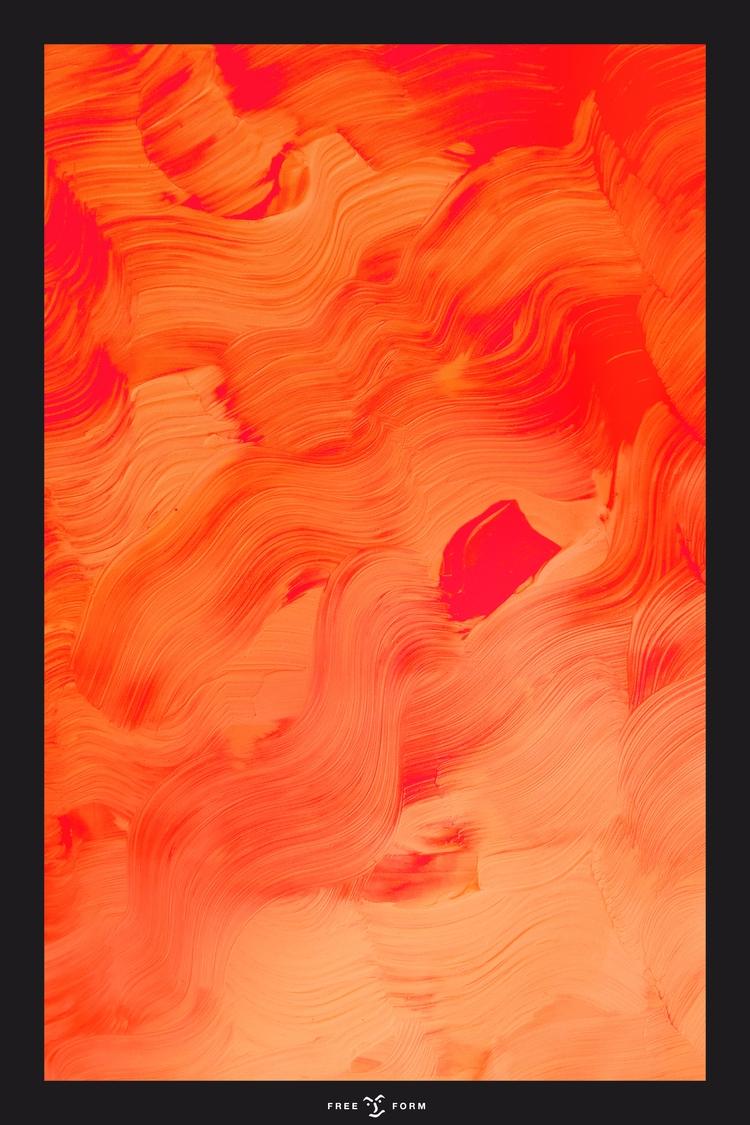 Freeform. Acrylic//Photoshop - clqqng | ello