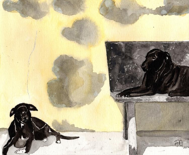 watercolor painting based pictu - nataliadamiao | ello
