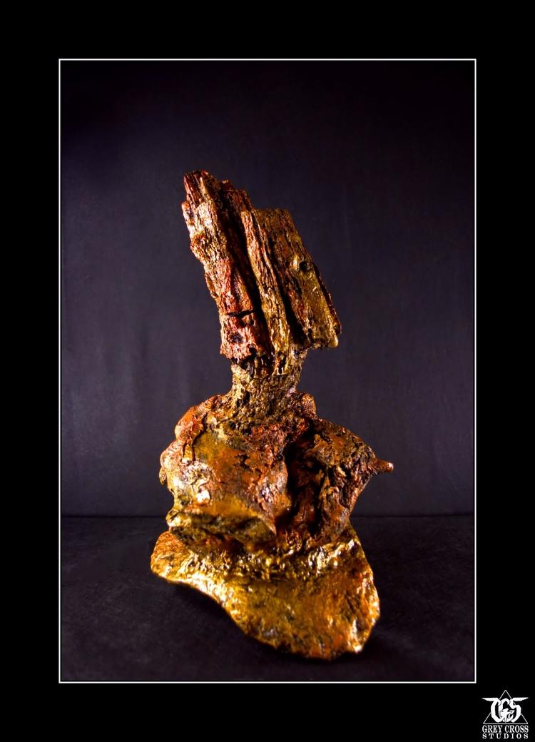 Warrior Rock deadwood sculpture - greycrossstudios   ello