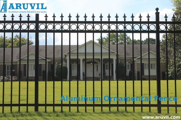 Aluminum Ornamental Fences - attractive - aruvilinternational | ello