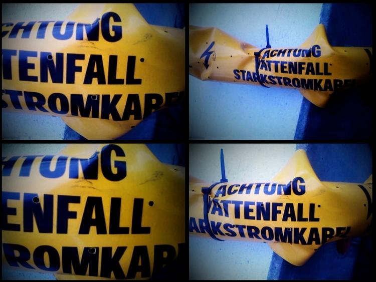 Starkstromkabel - Achtung, Lomo - ring2 | ello