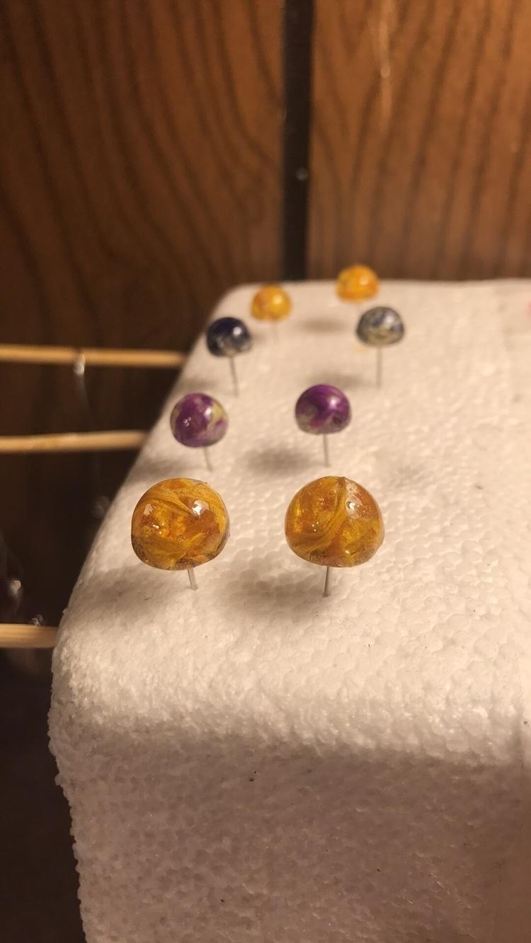 stud earrings listed tonight 7p - suncatch92 | ello