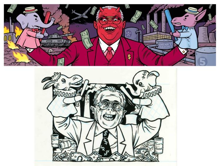 Political Puppet Master, Henry  - dannyhellman | ello