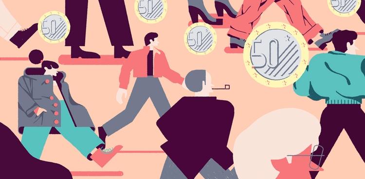 editorial, illustration, iltascabile - giulio_castagnaro | ello