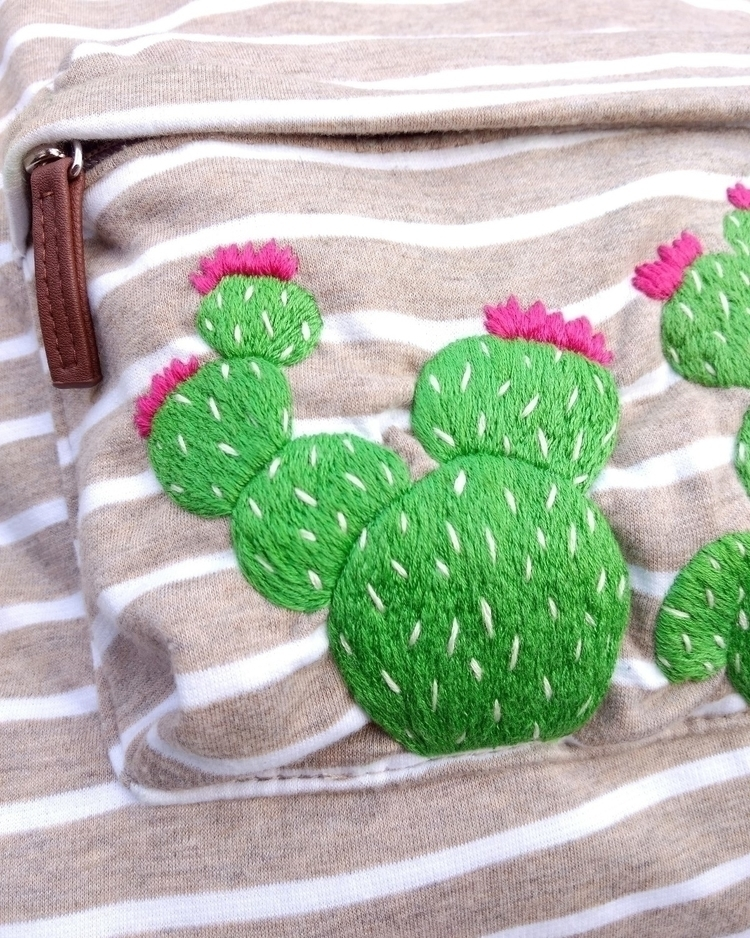 SNEAK PEAK embroidered :cactus - westcoastcreator | ello