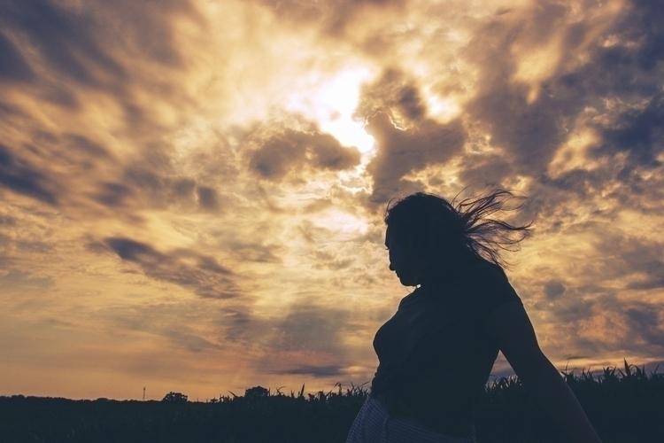 portrait - silhouette, vibrant, sky - kylie_hazzard_visuals | ello