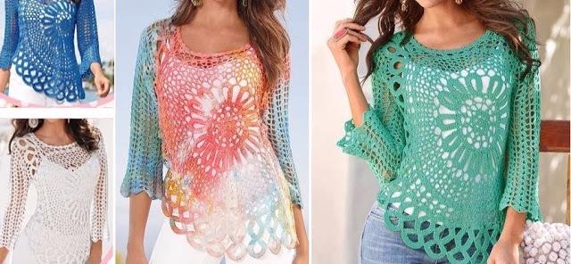 Incredible crochet blouse ... l - carlabreda | ello