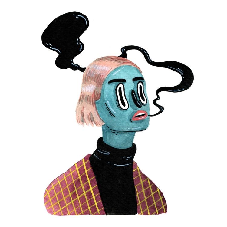 acrylicpainting, characterdesign - sarahmatuszewski | ello