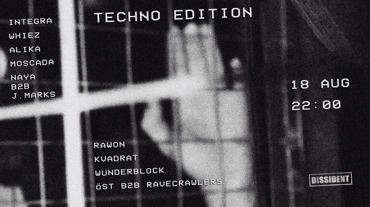 technoedition, techno, afisha - evel1ne | ello