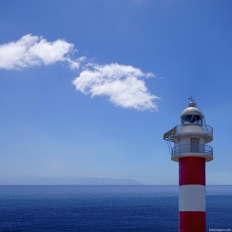 Lighthouse Spain, Tenerife sky  - erik_schepers | ello