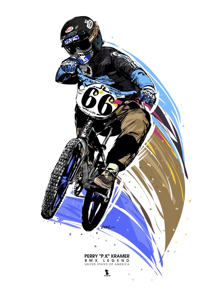 PERRY KRAMER - BMX LEGEND UNITE - boulplanet | ello