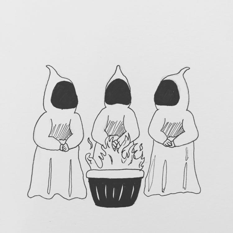 days Halloween Inktober doodles - marienjokuobi | ello