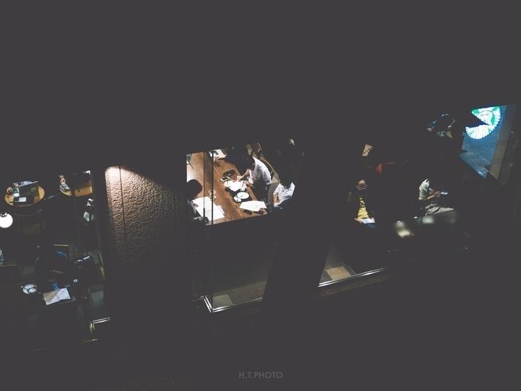 tokyo, night, walk, , starbucks - ht-photo | ello