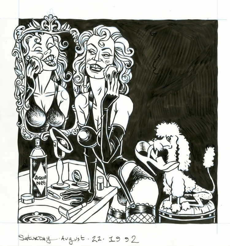 Transvestite illo NYPress, 8/22 - dannyhellman | ello