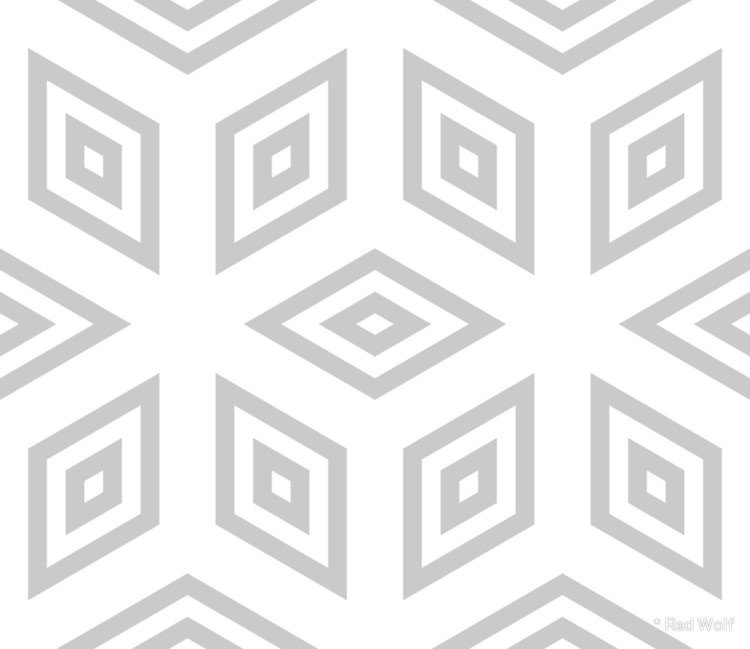 Geometric Pattern: Simple Neste - red_wolf | ello