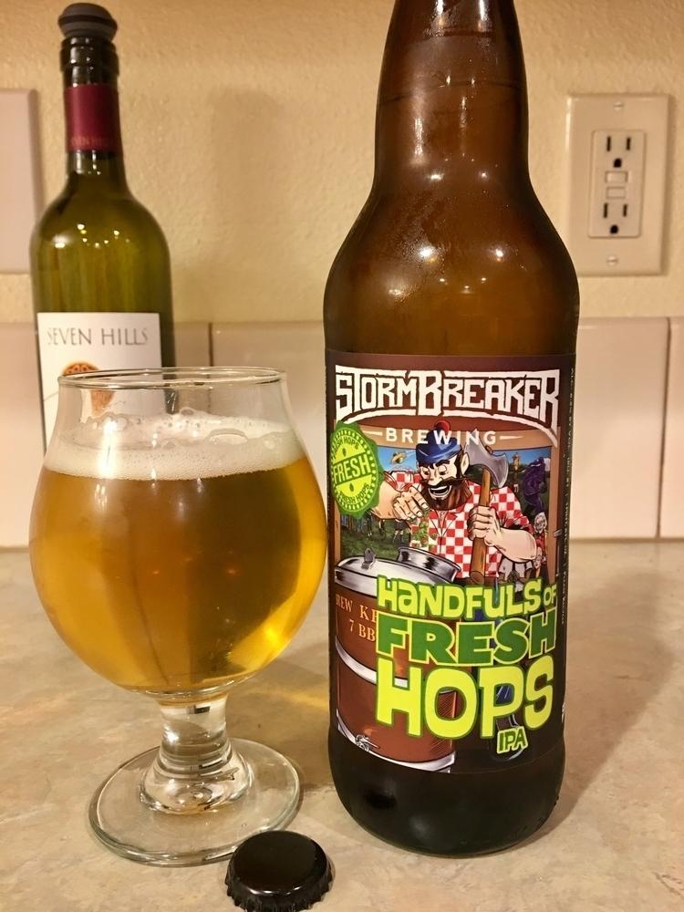 kidding, Stormbreaker fresh hop - ellobrew | ello