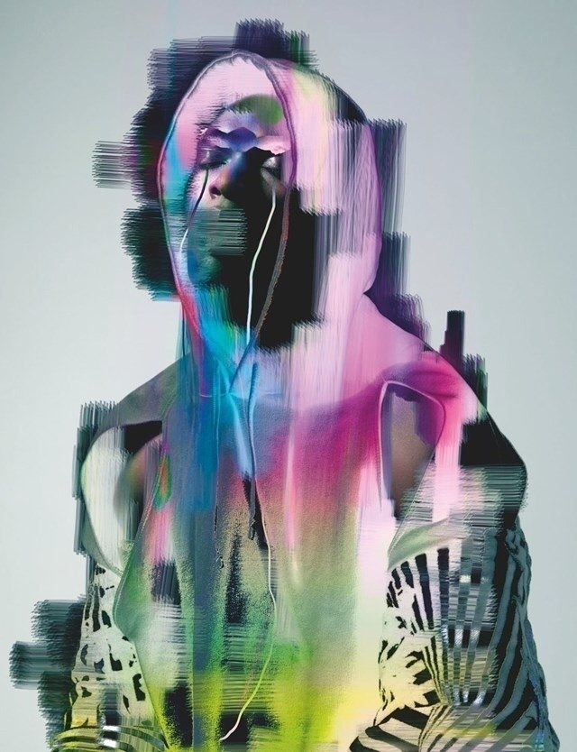 glitch, art, paint, fashion, photography - ash_white | ello