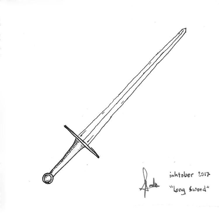 day 5+6: Long Sword ...Hehe hey - ferdiz | ello