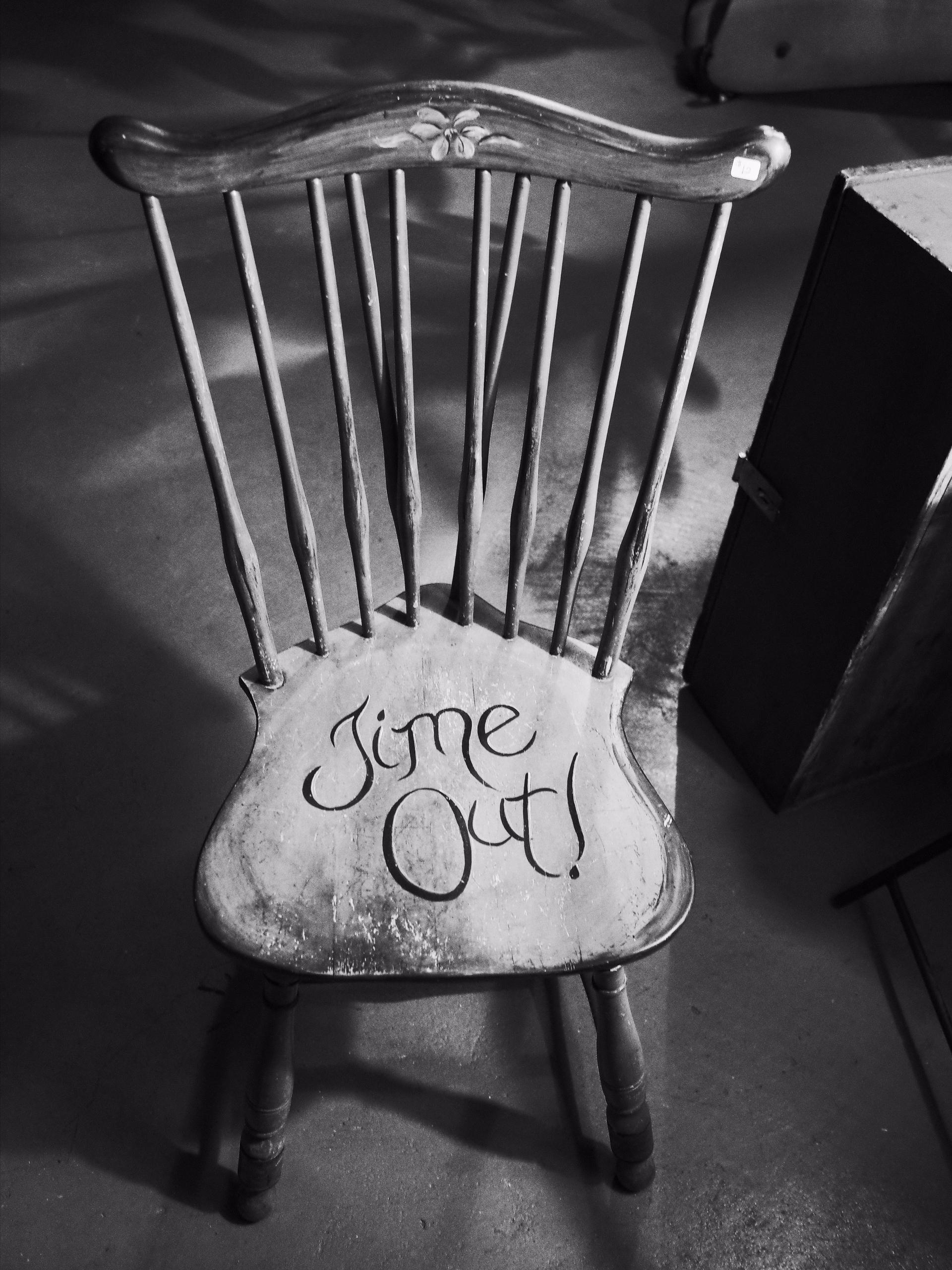 Timeout Chair - michaelraynott | ello