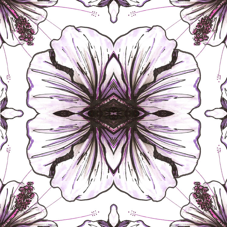 // Blossomscope - drawexperiment - dimokin | ello