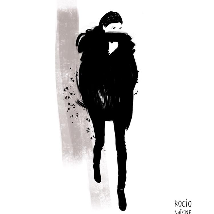Fashion illustration Rocio Vign - rociovigne | ello