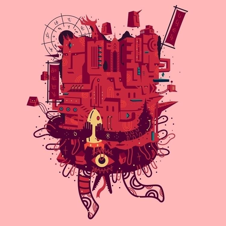 characterdesign, illustration - galekto | ello