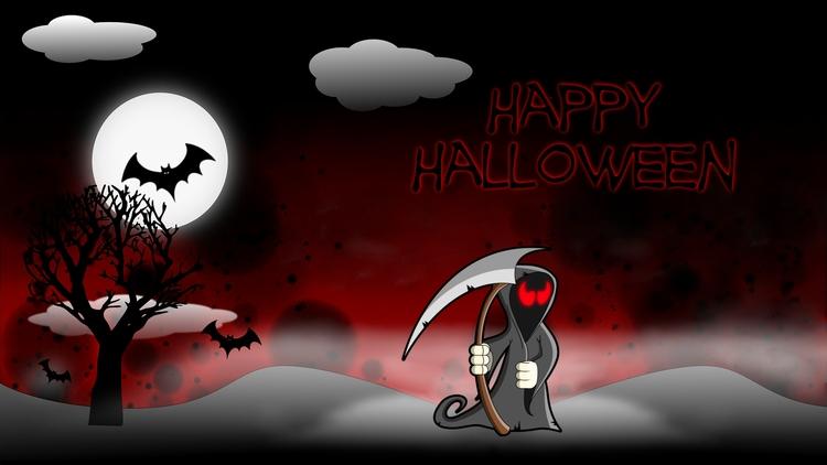 Clipart Halloween Remix - wallpaper - kut-n-paste | ello