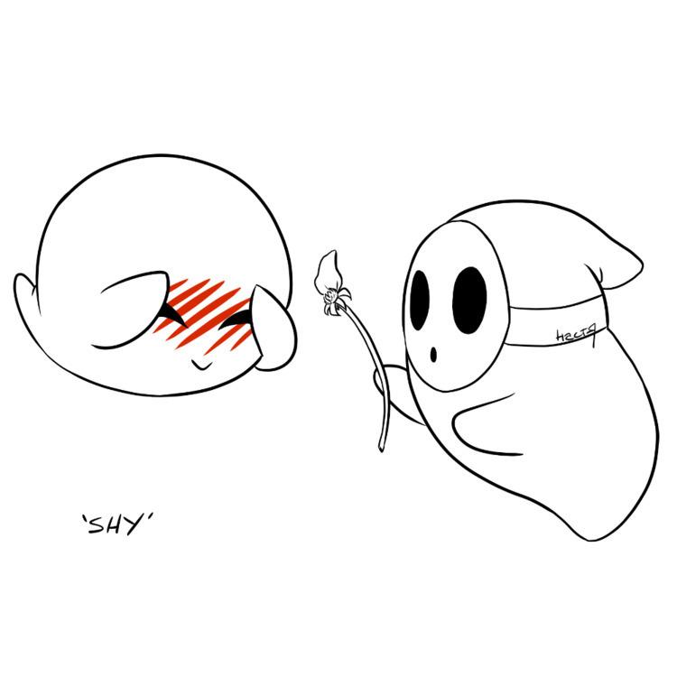 Day 7: Boo Guy loves Boo - inktober - likhoradka   ello