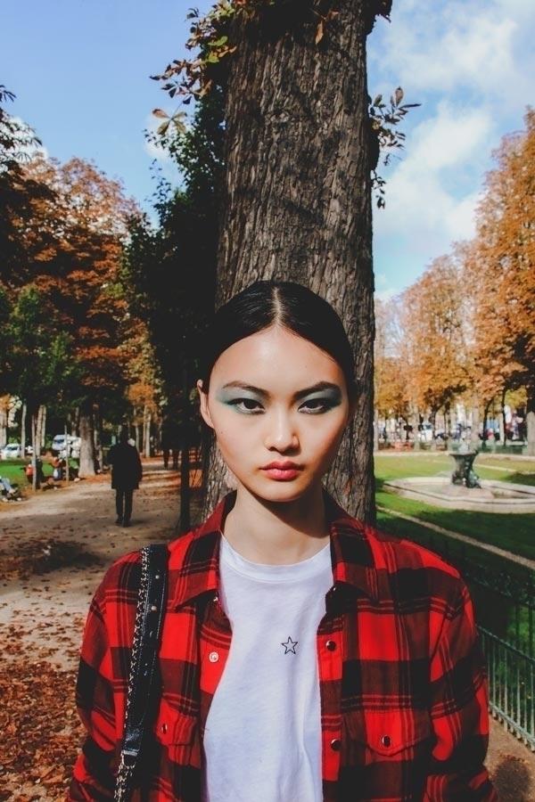 Cong, portrait - Paris 2017 - fall - fashionsnap | ello
