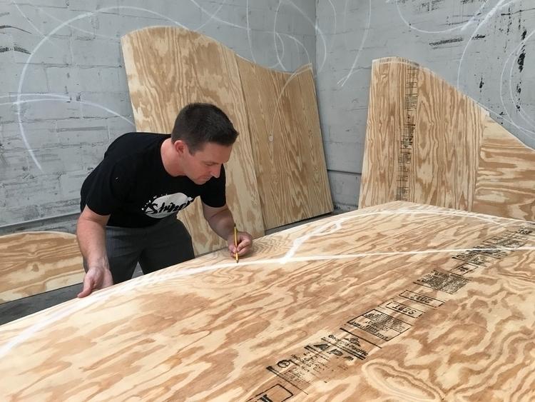 Florida started installation SH - rickywatts   ello