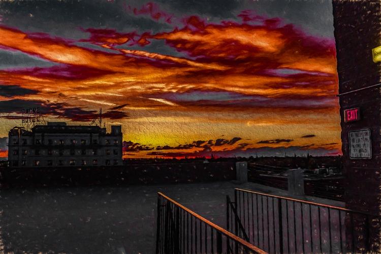 Overlook Sunset Jack supposed d - davidseibold | ello