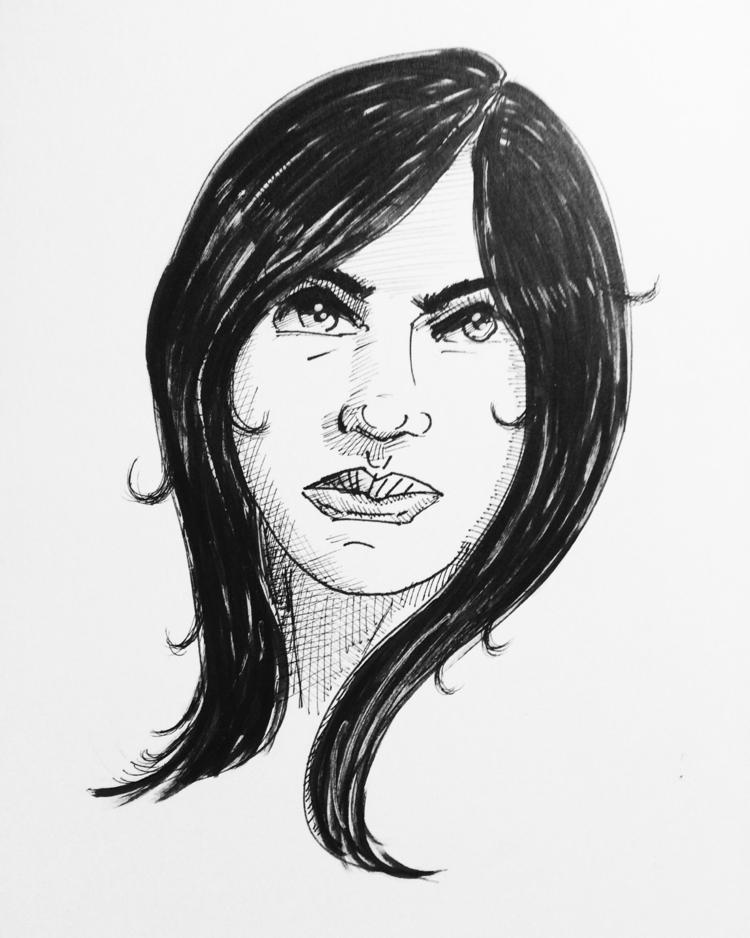 Saturday sketchbook work - marksolario | ello