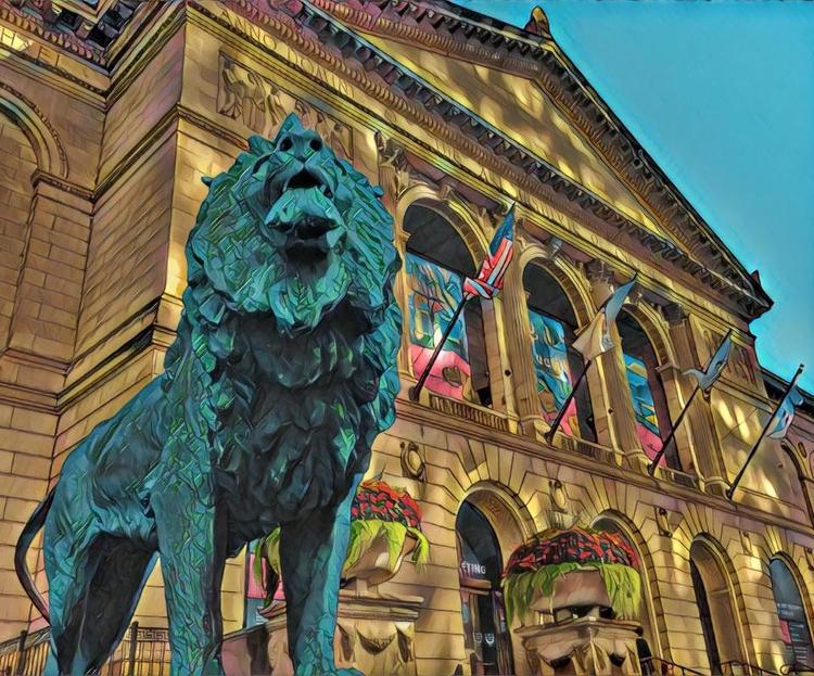 Guardian art - Chicago, Museums - davidjdeal   ello