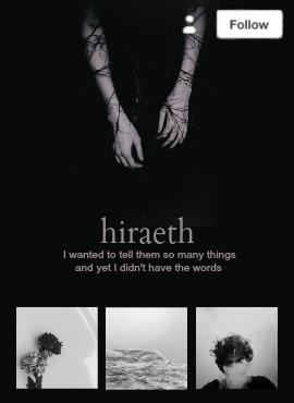 Tumblr Mobile Design | Hiraeth - obscurial | ello